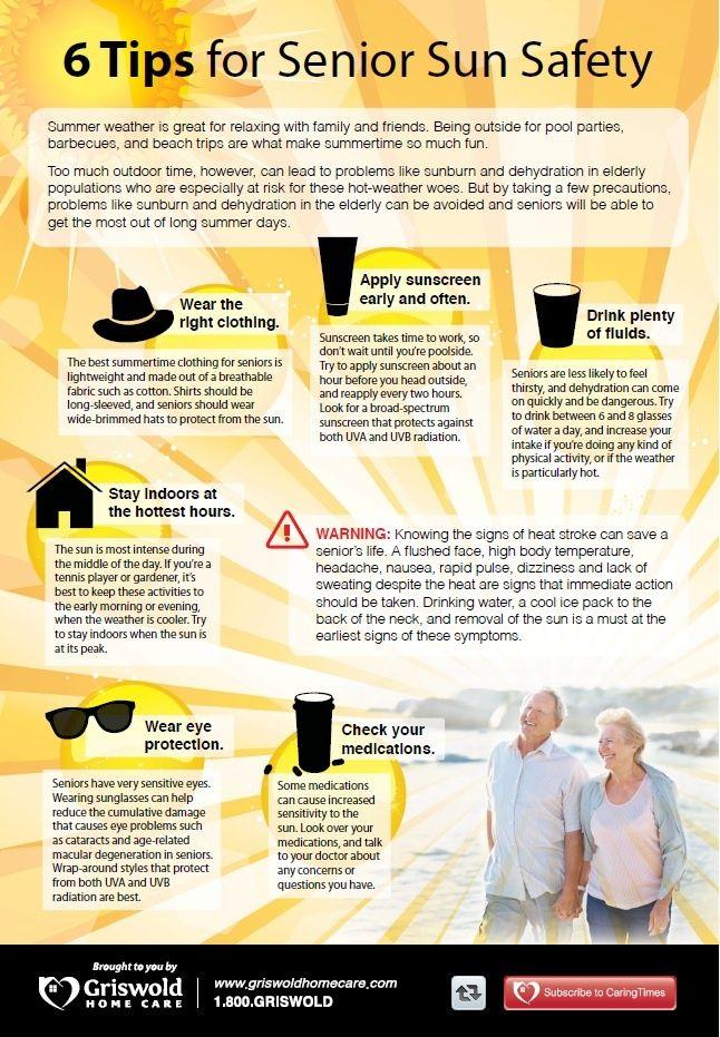 6 steps for senior skin care