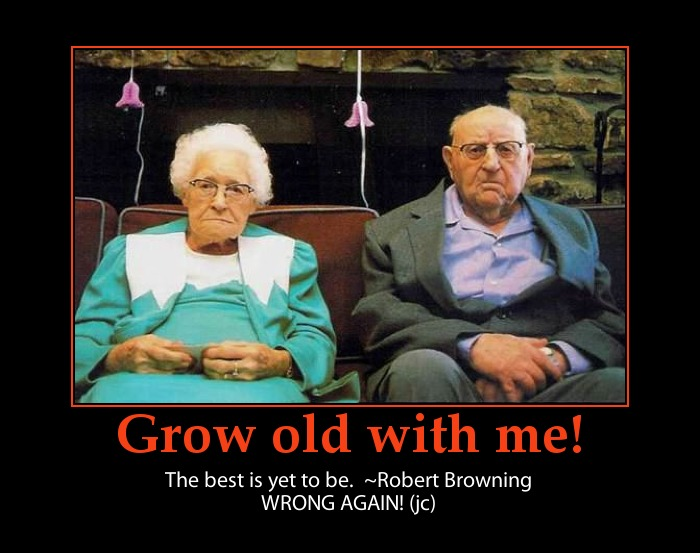 Love fail-funny old couple