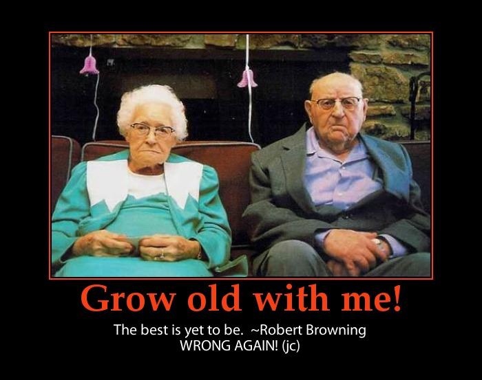 Love fail-funny old couple